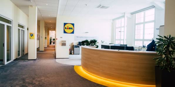 In Neckarsulm liegt der Lidl Hauptsitz.