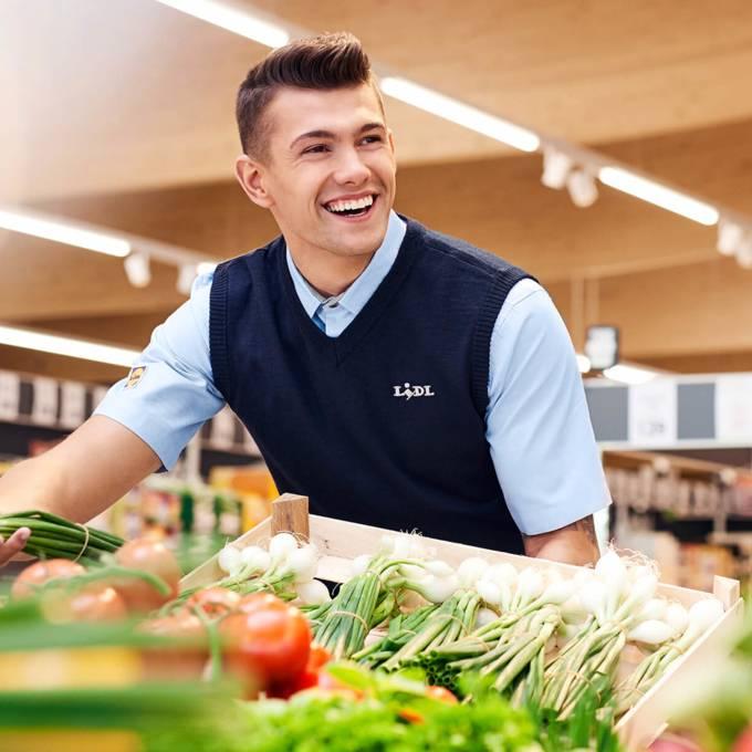 Filiale Verkäufer Gemüse
