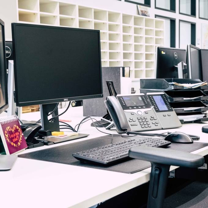 Arbeitsplatz Zentrale