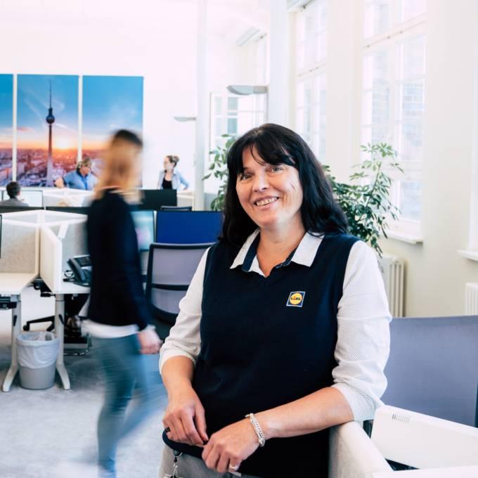 Susanne aus dem Kundenservice von Lidl