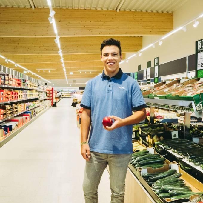 Filiale Verkäufer Apfel