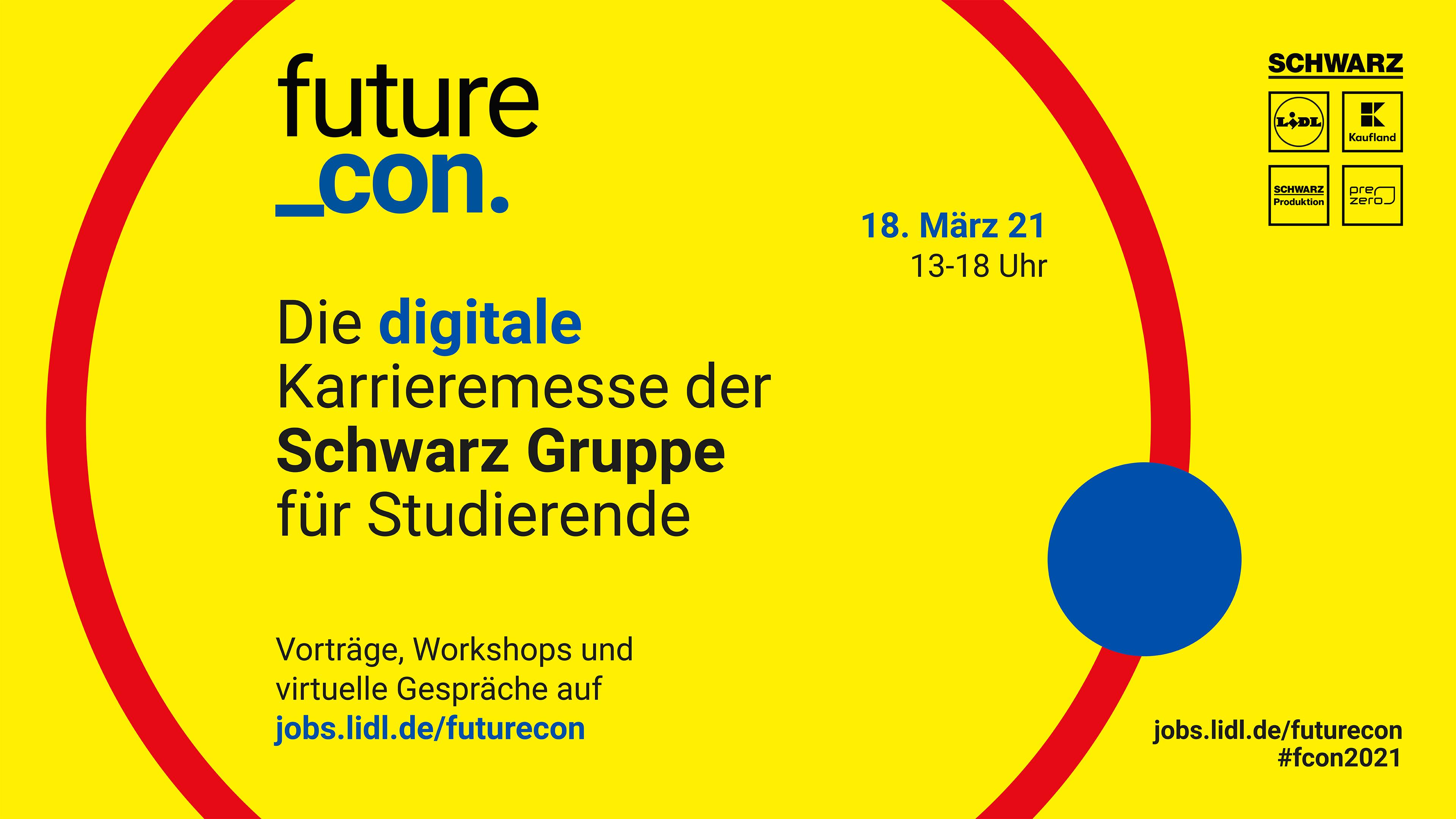 Onlinemesse für Studierende futurecon