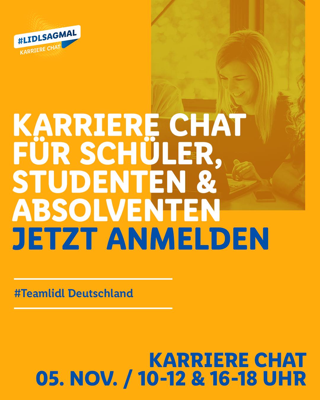 Lidl Karriere-Chat Studenten und Absolventen 05. November 2020