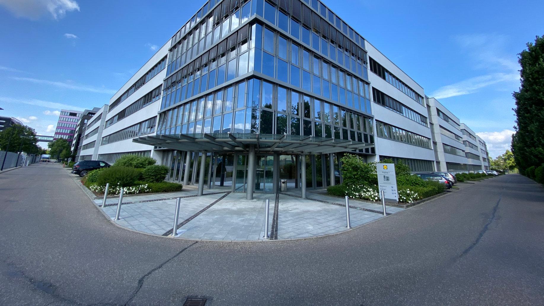 Lidl Gebäude in Neckarsulm
