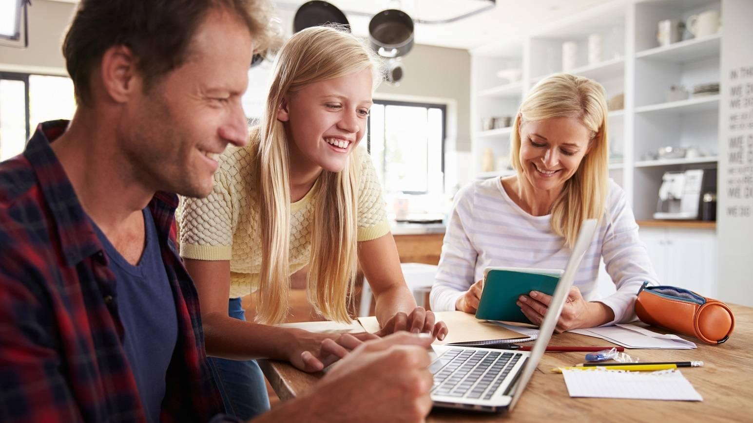 Schüler Elterninformationen Header