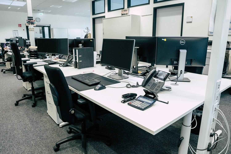 Büro mit PCs