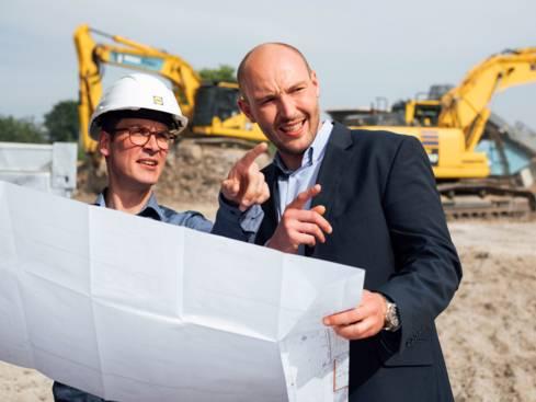 Lidl ist auch im Bereich Bau und Immobilien aktiv.
