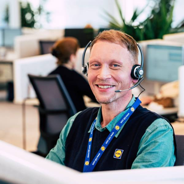 Alexander aus dem Kundenservice von Lidl